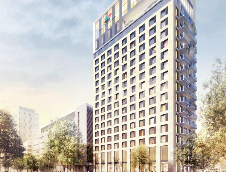 ece breaks ground on d sseldorf hotel project propertyeu. Black Bedroom Furniture Sets. Home Design Ideas