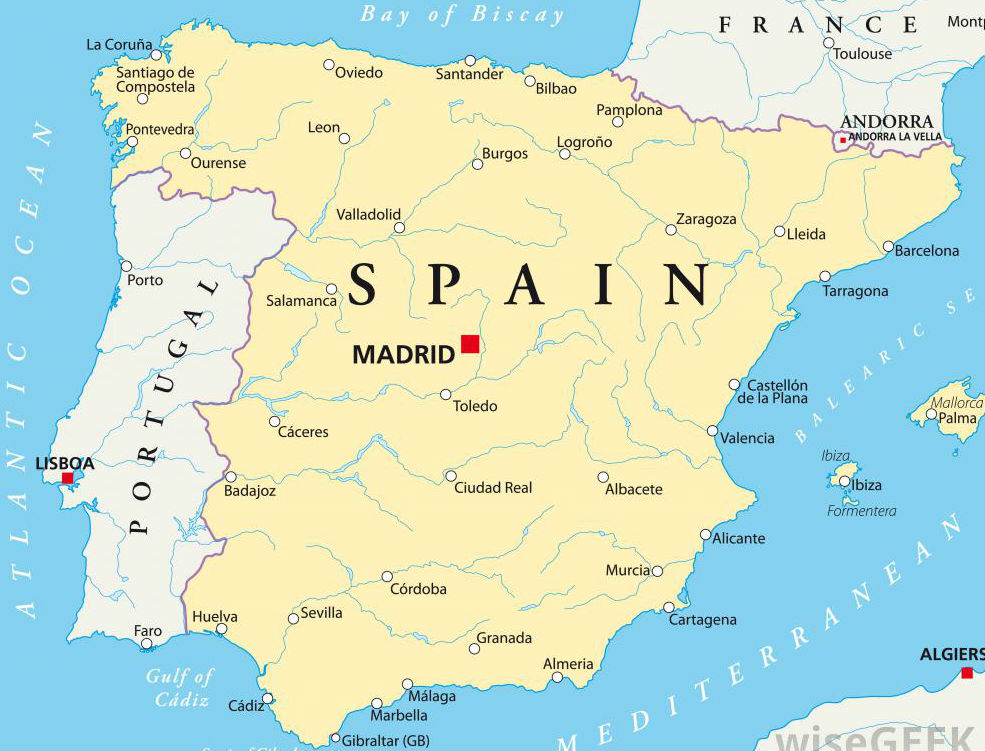 Iberia World Map.Briefing Iberian Markets Attract New Wave Of Propertyeu